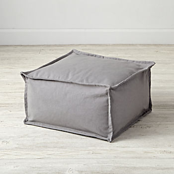 Square Grey One Seater