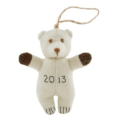 Baby's First Christmas Ornament (Bear)