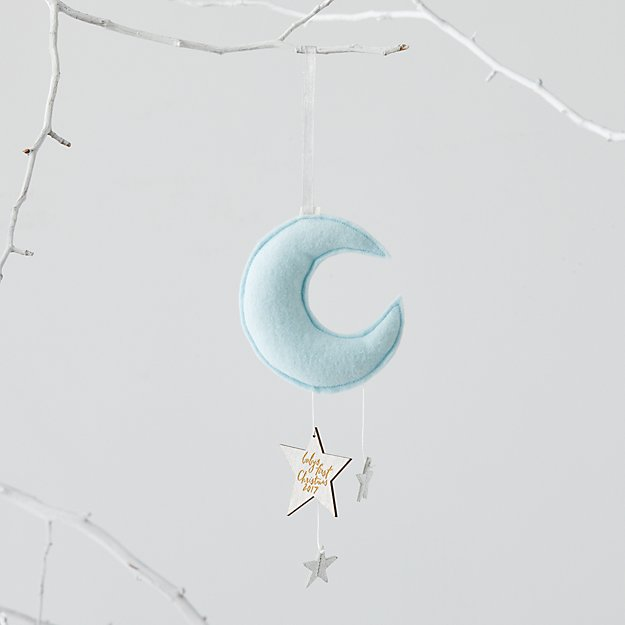 Baby's First Blue Moon Ornament