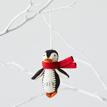 Chilly Penguin 2017 Ornament