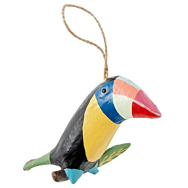 Colorful Toucan Ornament