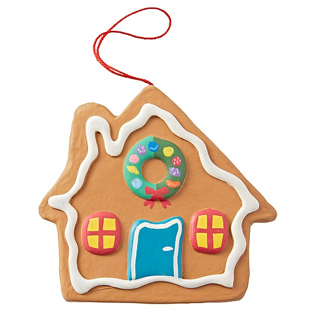 Dylan's Candy Bar Gingerbread House Ornament