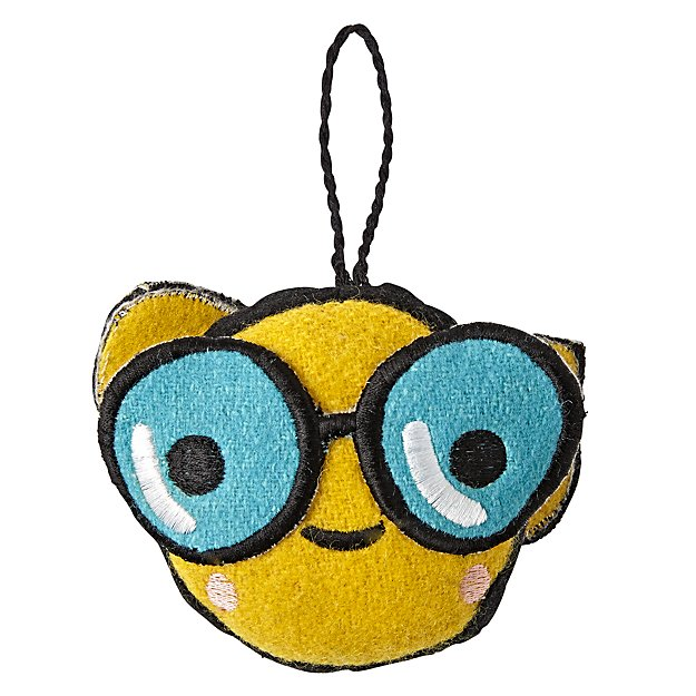 Glasses Emoji Ornament