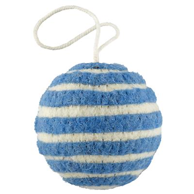 Bright Stripes Ornament (Blue)