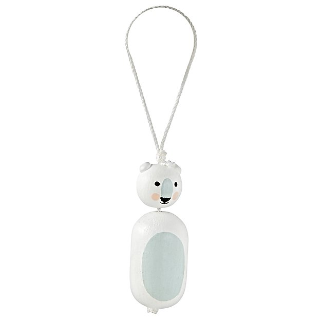 Bear Little Christmas Ornament