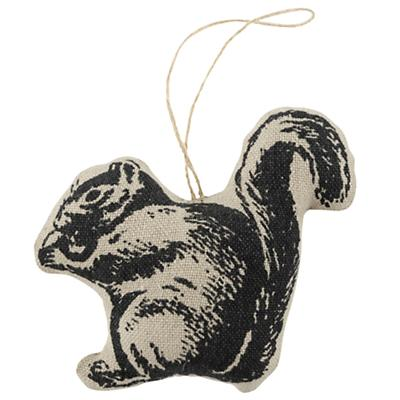 Squirrel Menagerie Ornament
