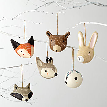 Merry Meadow Ornaments (Set of 6)