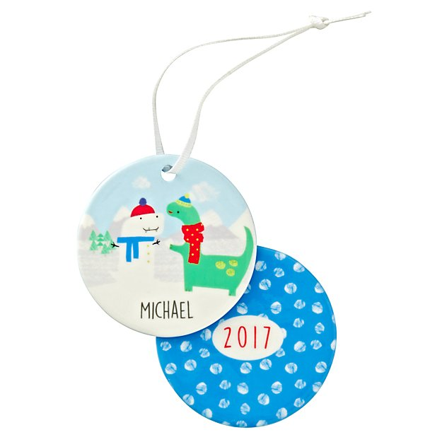 You Name It Jillian Phillips Personalized Snowman Ornament