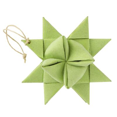 Green Supernova Ornament