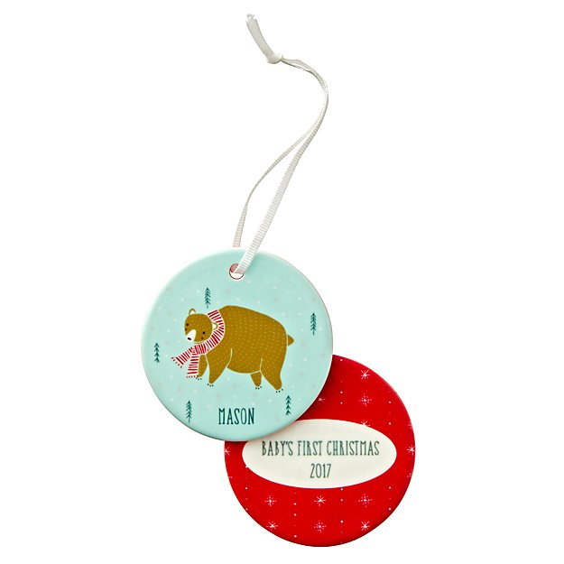 You Name It Gingiber Personalized Bear Ornament