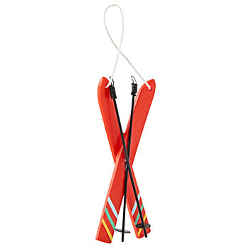 Snow Sports Ski Ornament