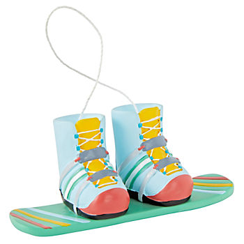Snow Sports Snowboard Ornament