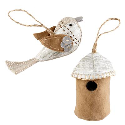 The Tweet Life Ornament Set (Silver)