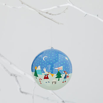 A Very Good Year 2017 Ornament