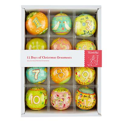 Michael Mabry Ornaments (Set of 12)