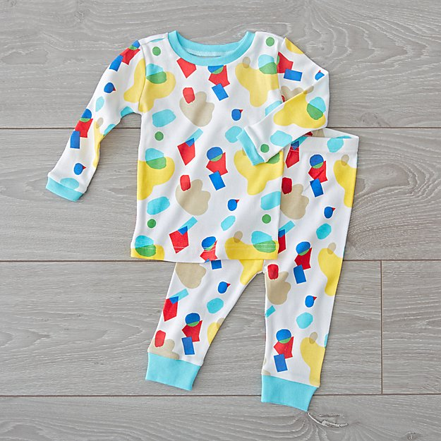 Organic Toddler Pajamas (6-12 Months)