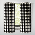 "Buffalo Check Black 63"" Blackout Curtain(Sold Individually)"