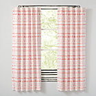 "Wild Excursion Pink 84"" Curtain(Sold Individually)"