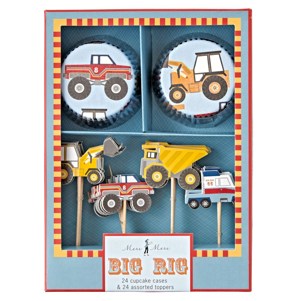 Construction Cupcake Kit (Set of 24)