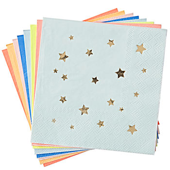 Bright Star Napkins (Set of 16)