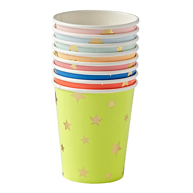 Bright Star Party Cups (Set of 8)