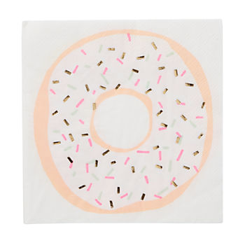 Doughnut Party Napkins (Set of 16)