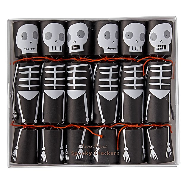 Halloween Crackers (Set of 6)