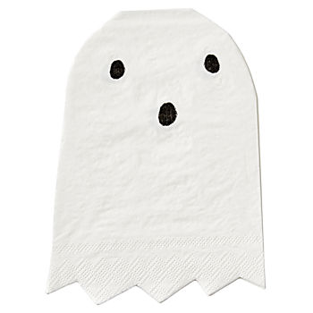 Halloween Ghost Napkins (Set of 20)