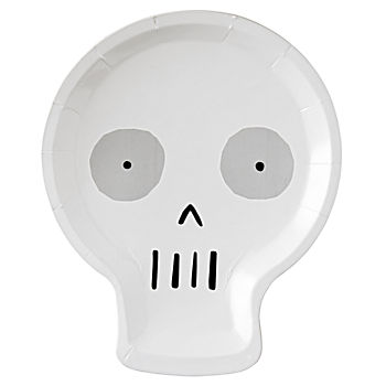 Halloween Skull Plates (Set of 12)