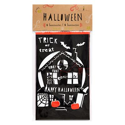 Halloween Luminaries (Set of 4)
