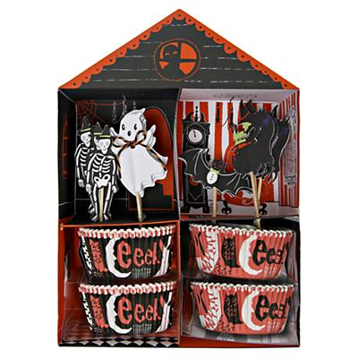 Halloween Cupcake Kit (Set of 24)