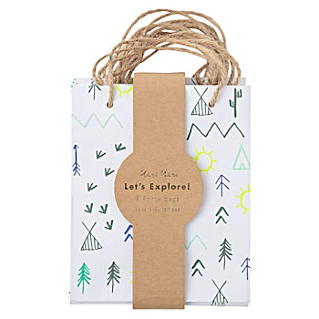Let's Explore Party Bags (Set of 8)