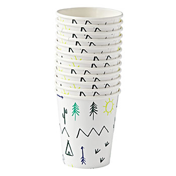Let's Explore Party Cups (Set of 12)