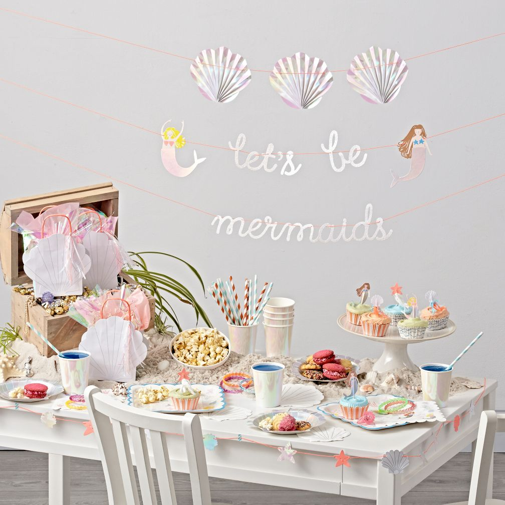 Let's Be Mermaids Party Decor