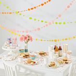 Meri Meri Rose Gold Party Decor