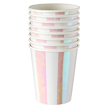 Iridescent Party Cups (Set of 8)
