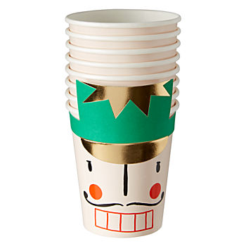 Nutcracker Party Cups (Set of 8)