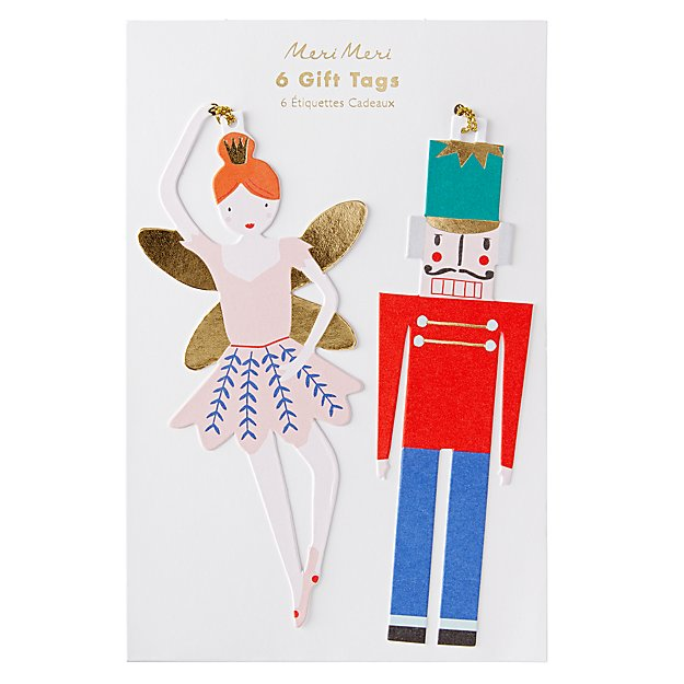 Nutcracker Gift Tags (Set of 6)
