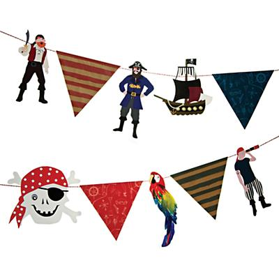 Ahoy Pirate Garland