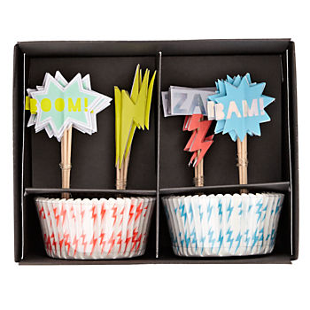 Superhero Cupcake Kit (Set of 24)