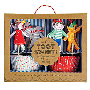 Toot Sweet Cupcake Kit