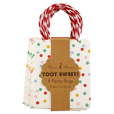 Toot Sweet Party Bags (Set of 8)