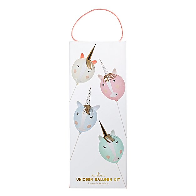 Unicorn Balloon Kit (Set of 4)