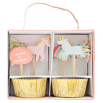 Unicorn Cupcake Kit (Set of 24)