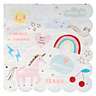 Unicorn Large Napkins (Set of 16)