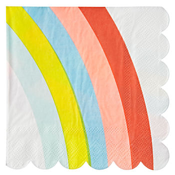 Rainbow Small Napkins (Set of 20)