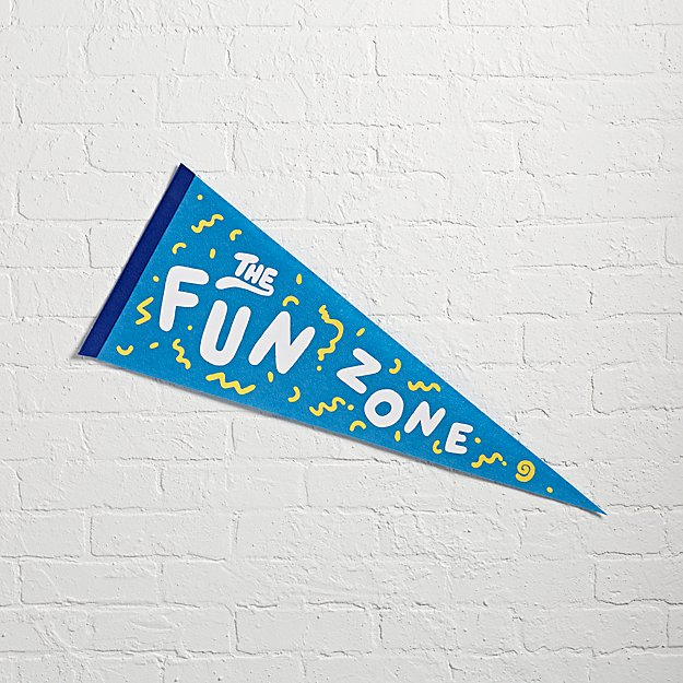 Fun Zone Team Spirit Pennant
