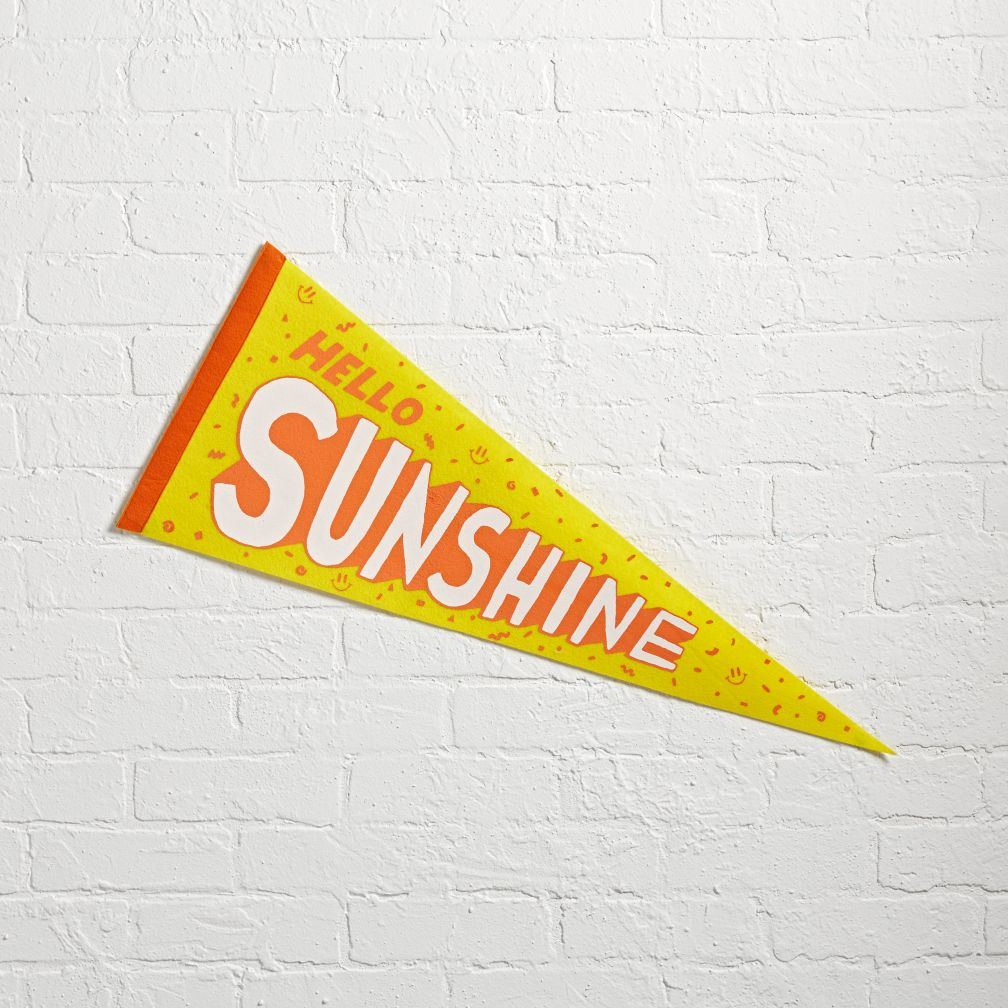 Sunshine Team Spirit Pennant