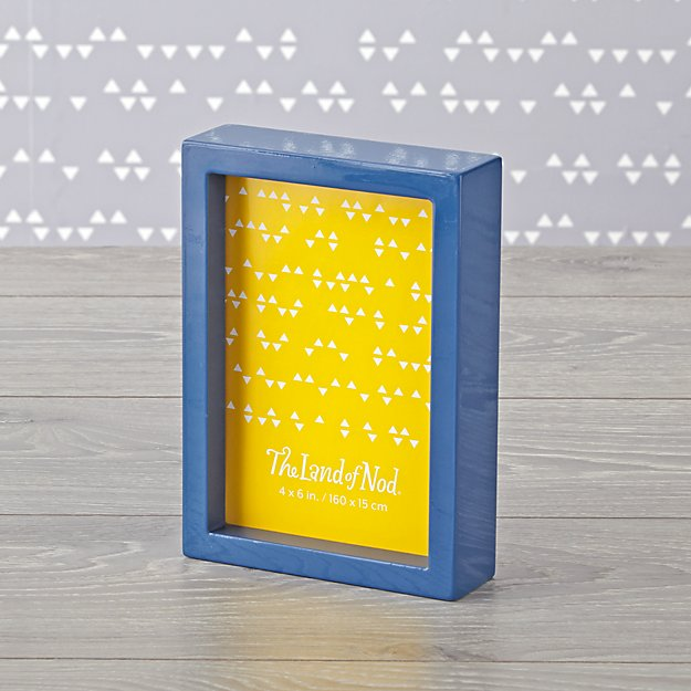 "Blue Box Photo Frame (4 x 6"")"
