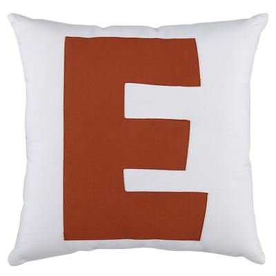 "ABC ""E"" Pillow"